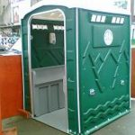 Exterior 6 man urinal units for hire from Extraloo