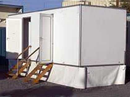 Avonmore exterior VIP Toilets available for hire in the Greater Dublin area